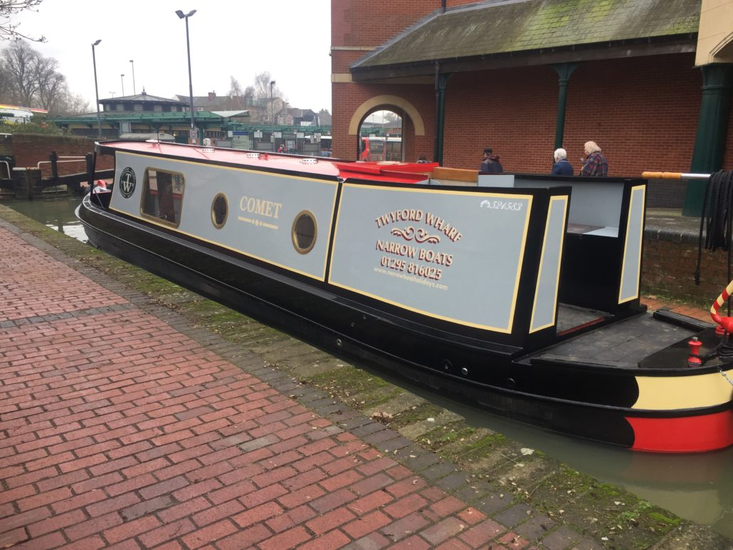 Canal Boat Hire Beds